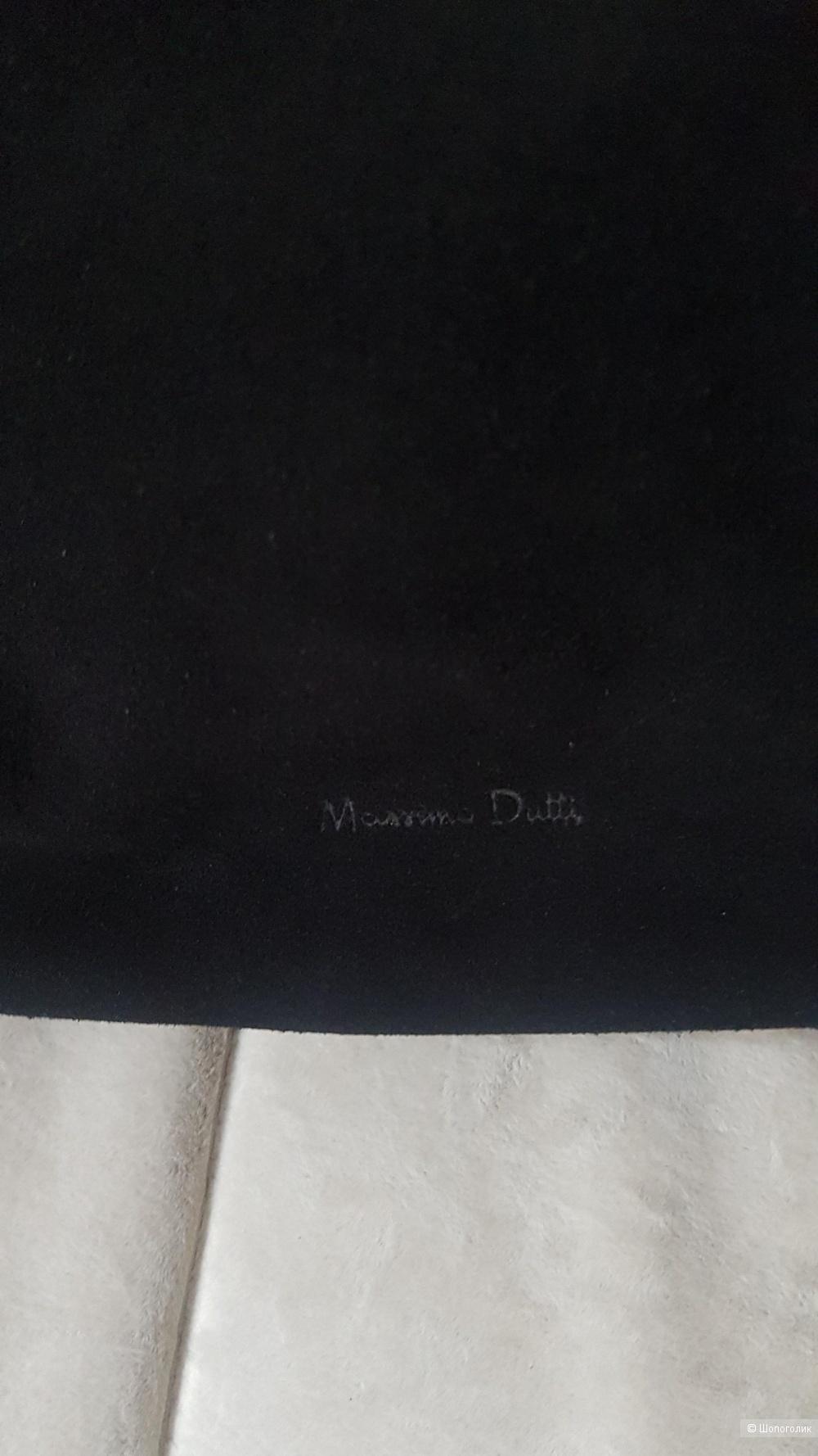 Сумка кожа+ замша,  Massimo Dutti, one size