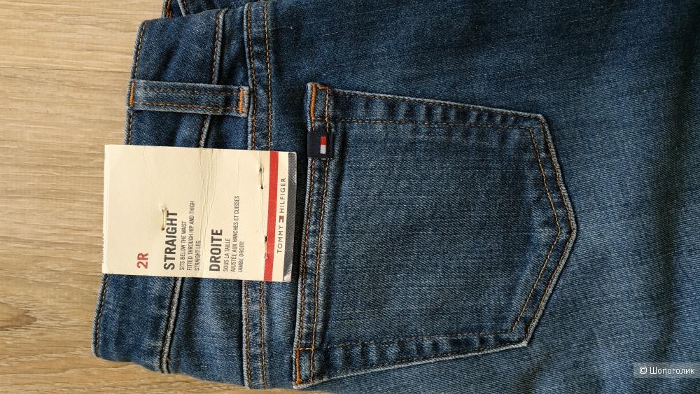 Сэт джинсы Tommy Hilfiger + гипюровый топ Victoria Secret, размер 44-46