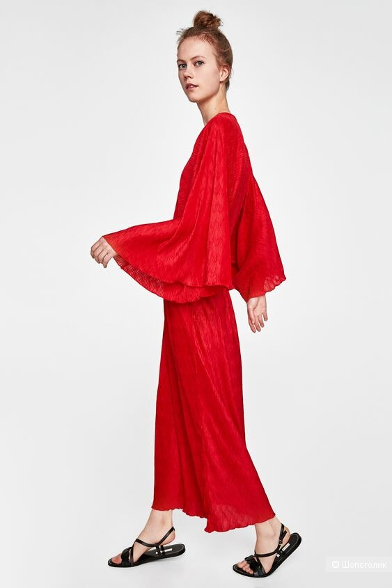 Платье-кимоно ZARA, размер S/M