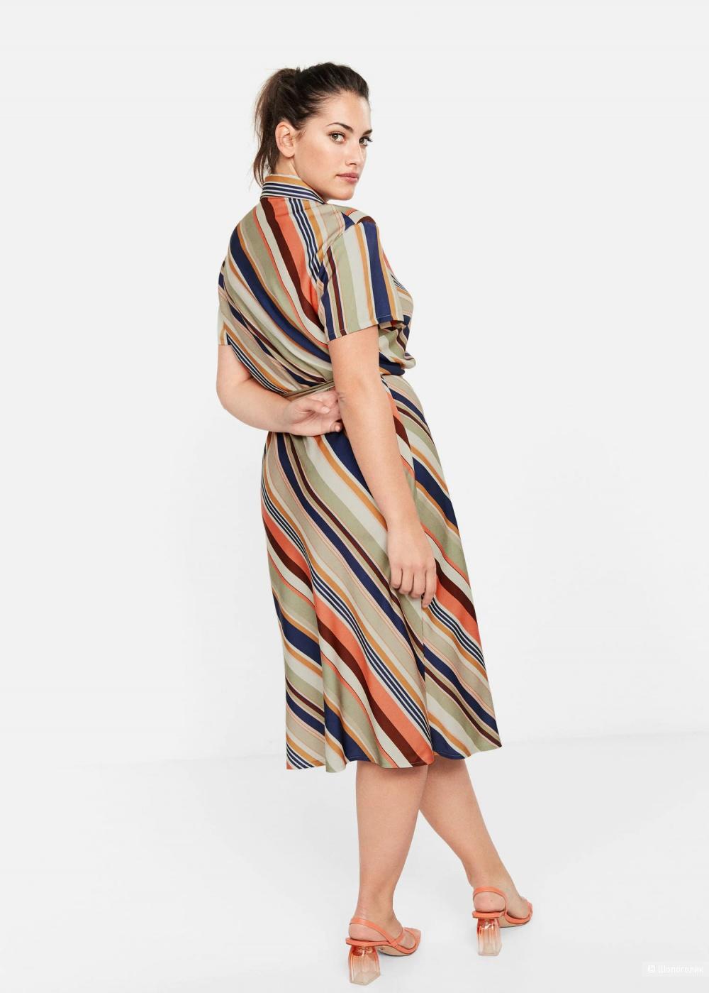 Платье- рубашка mango, размер росс 52-54
