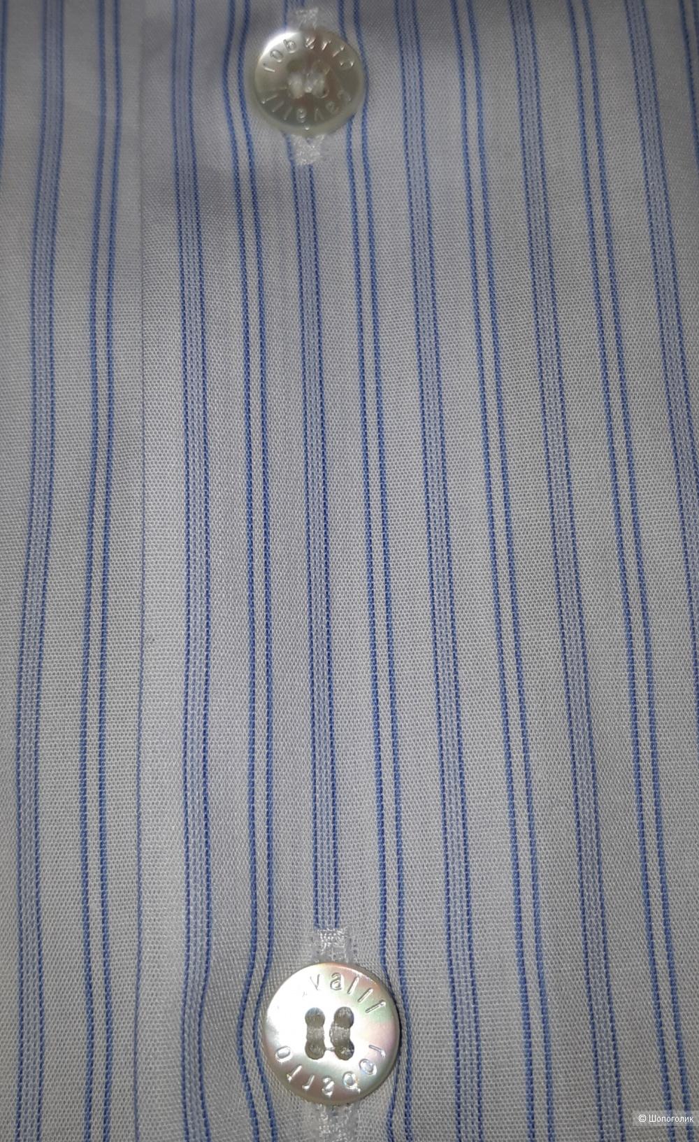 Новая мужская рубашка бренда roberto cavalli, размер l