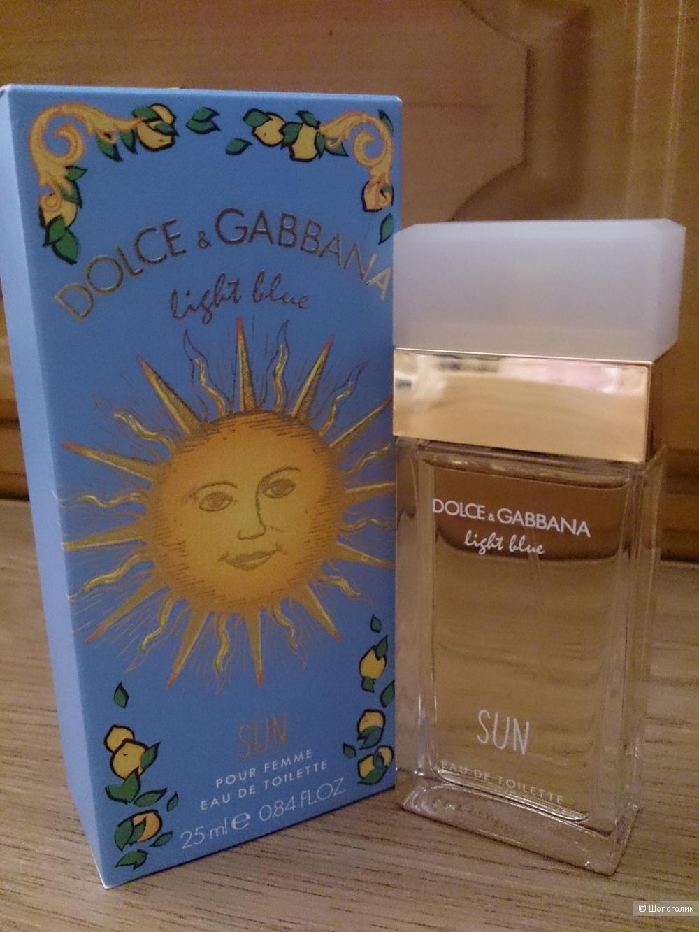Dolce&Gabbana Light Blue Sun Туалетная вода 25 мл