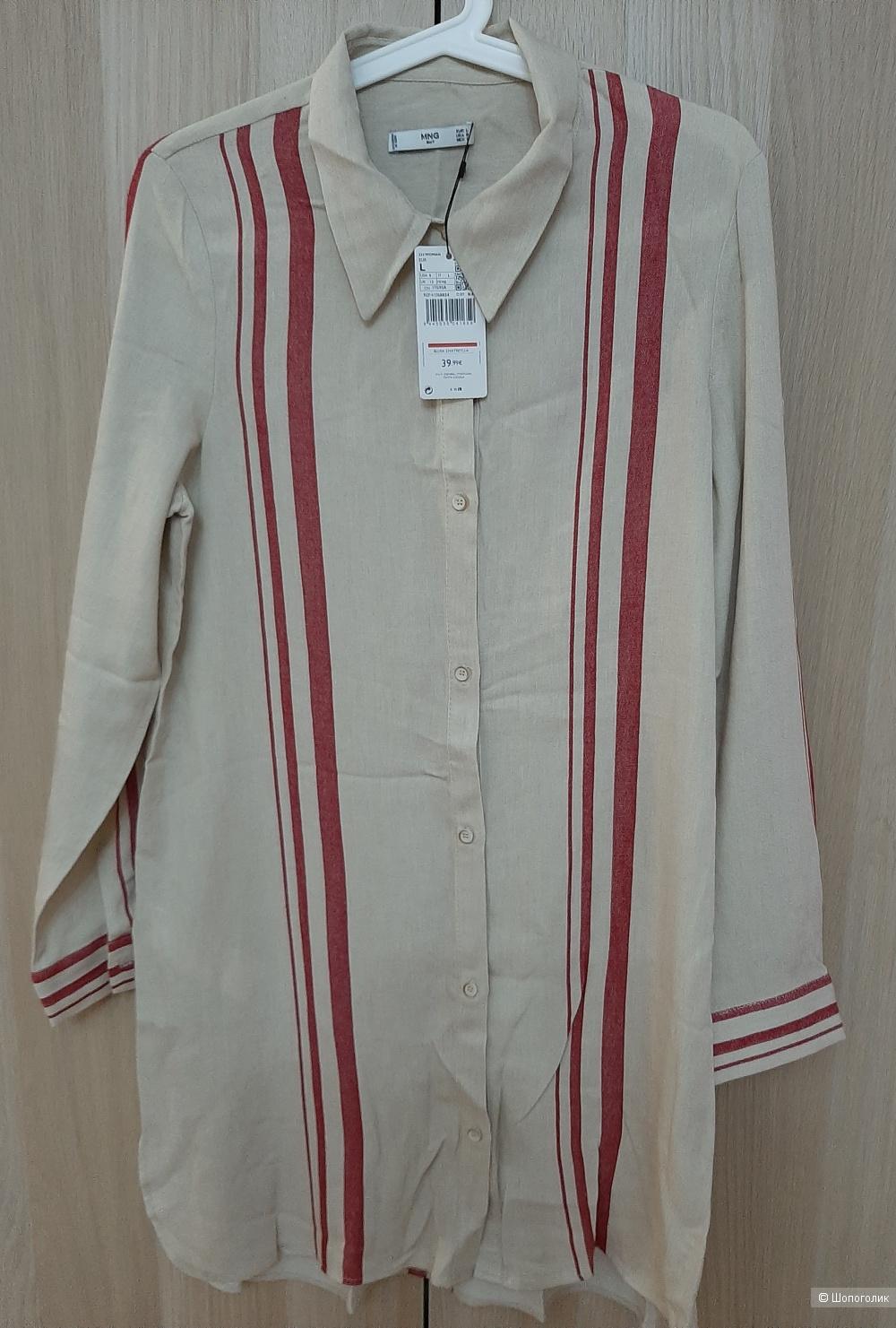 Рубашка  Mango  размер L