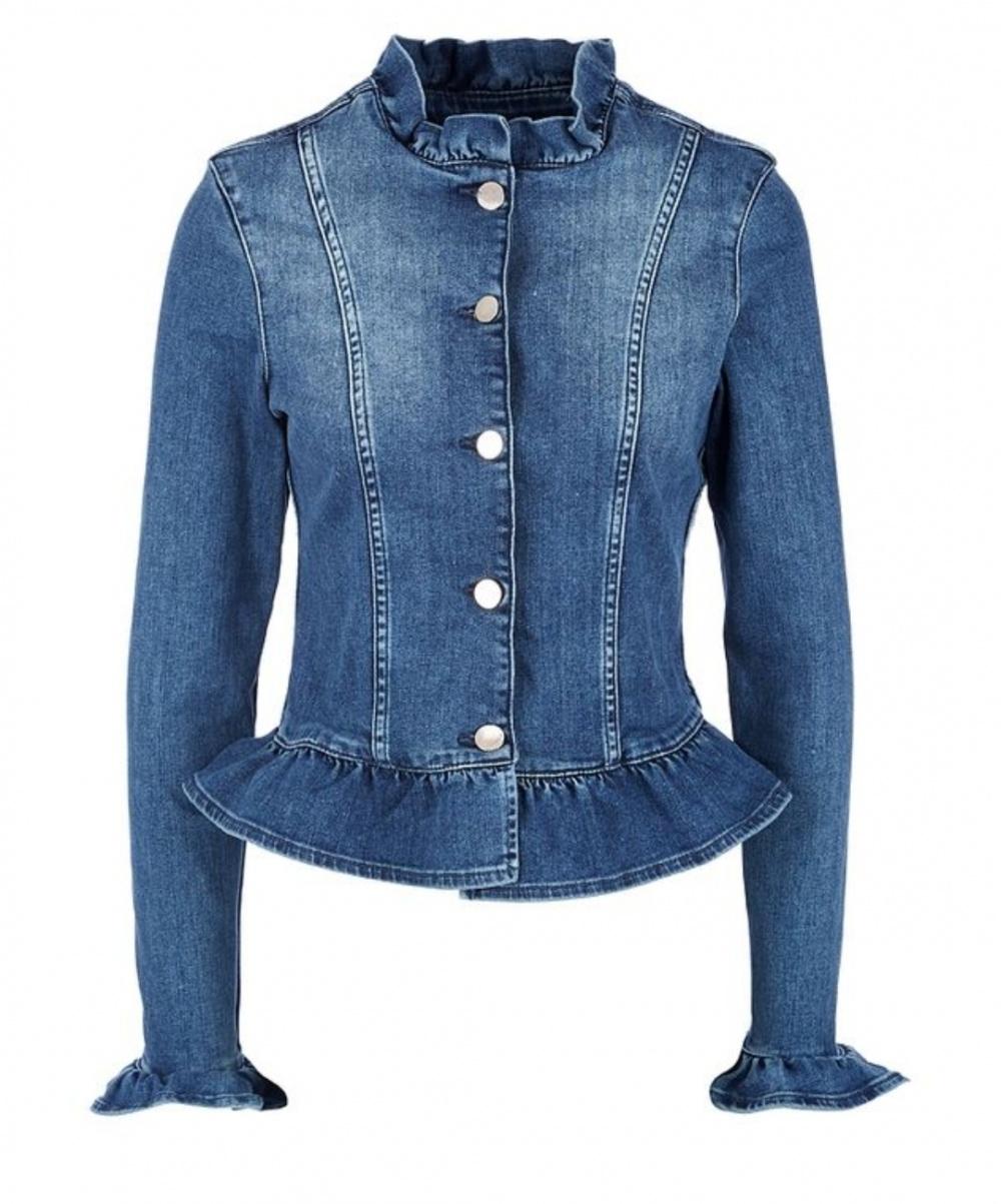 Джинсовая куртка-жакет, Myhailys, M