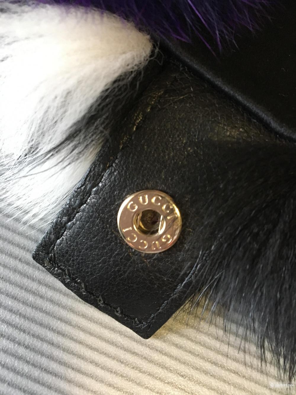 Шарф из меха от GUCCI, one size