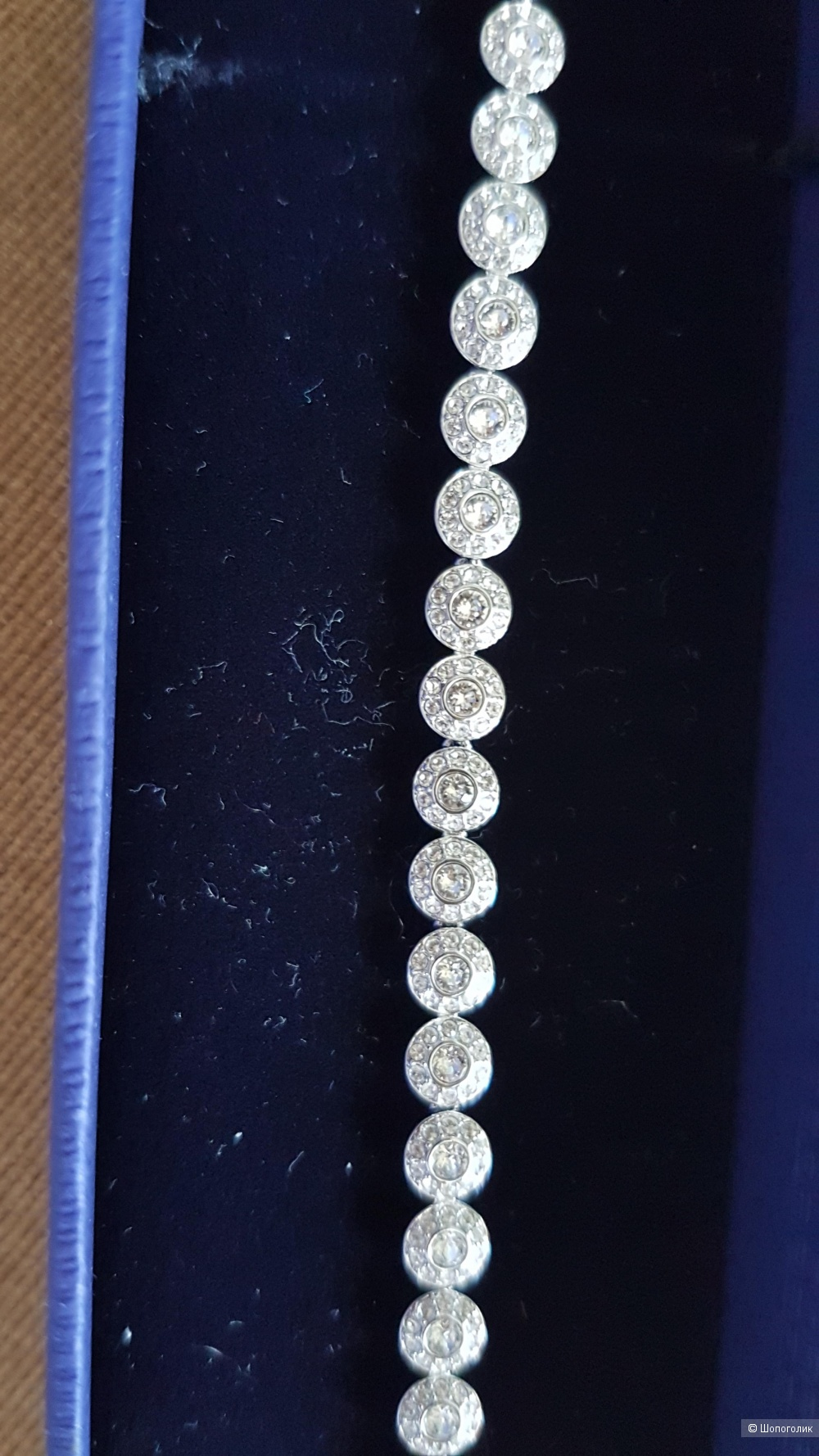 Браслет Swarovski 17 размер