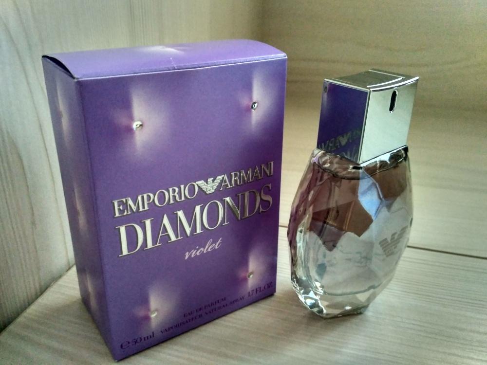 Парфюмированная вода Emporio Armani Diamonds Violet, Giorgio Armani. 50 мл.