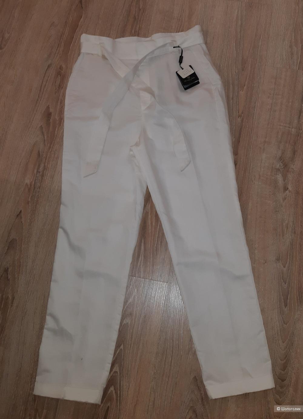 Новые белые брюки massimo dutti, размер 46