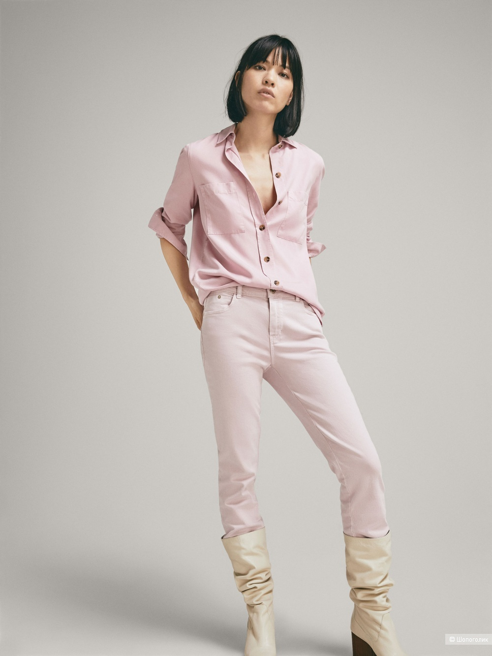 Новые джинсы massimo dutti, размер 46