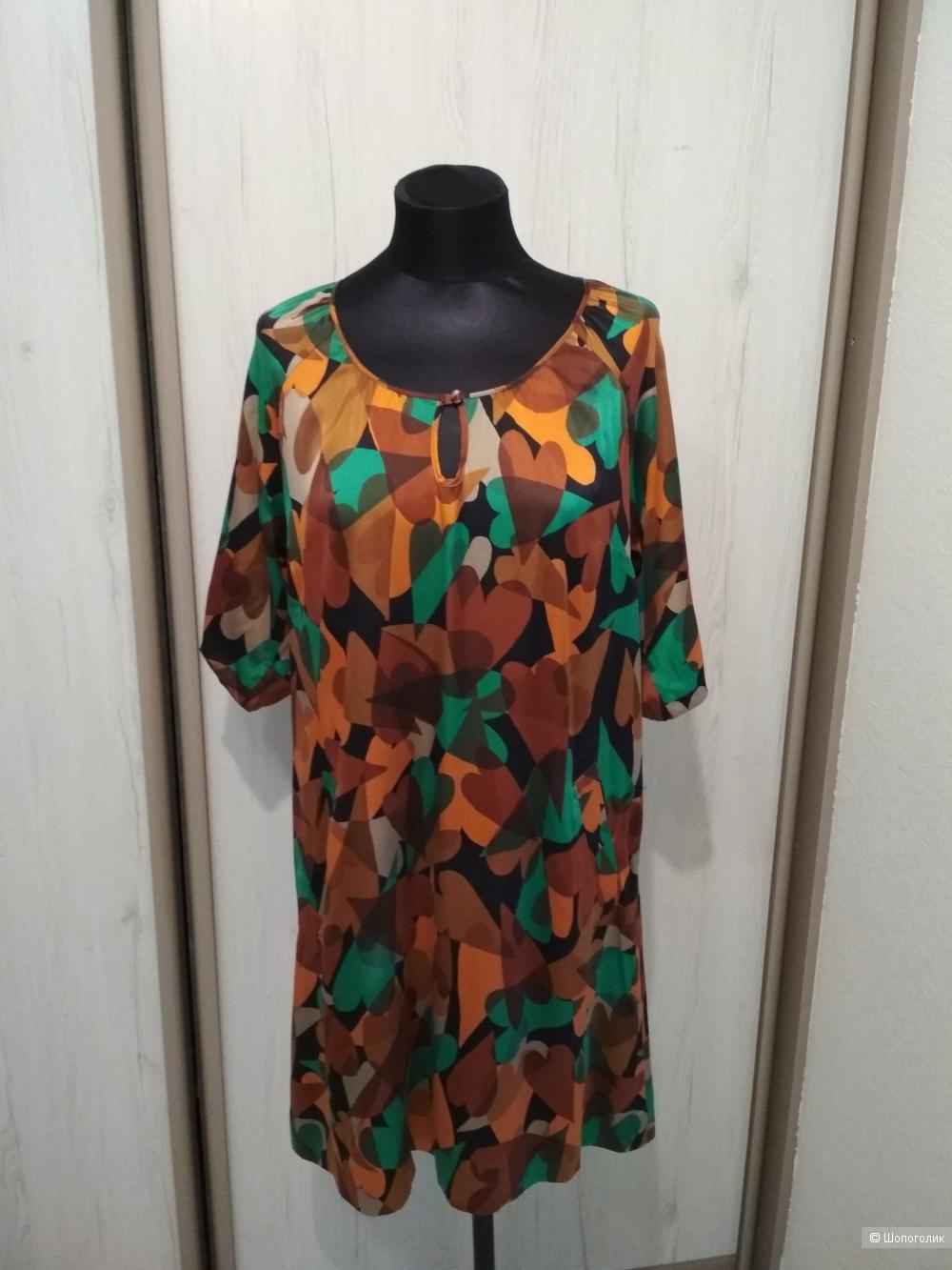 Шелковое платье  Giovane San Martino , М.