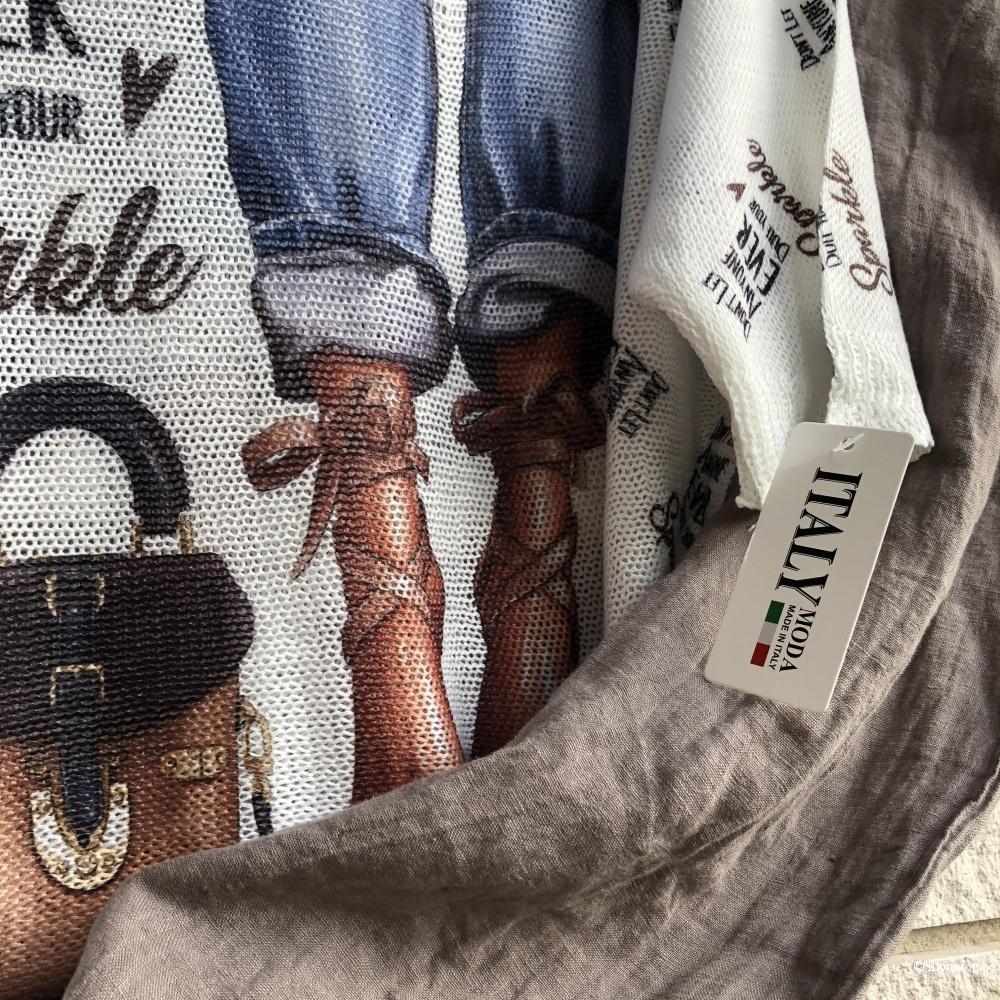 Комплект брюки PURE LINO и джемпер ITALY MODA, 44-54