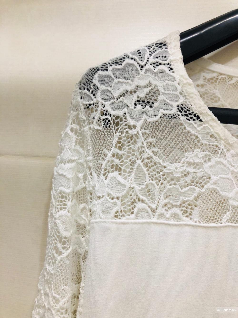 Блузка KAFFE  Lacy Rundhals. Размер S.