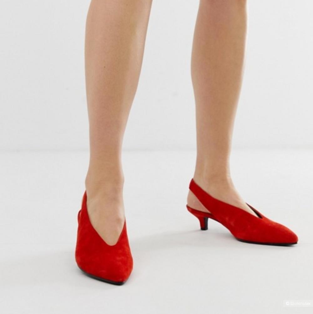 Замшевые туфли Vagabond, 39