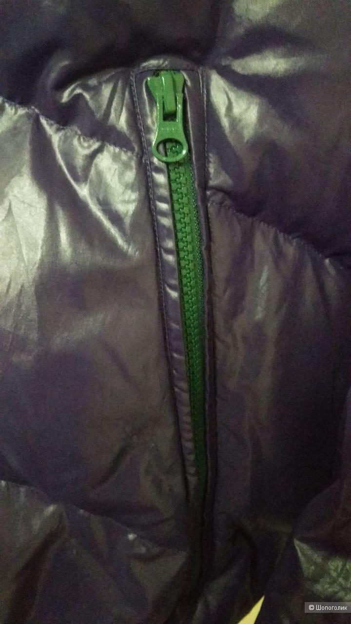 Пуховик United Colors of Benetton, размер 54 рус