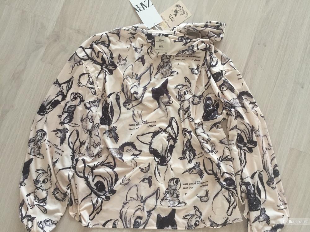 Zara блуза из лимитированной коллекции, размер s