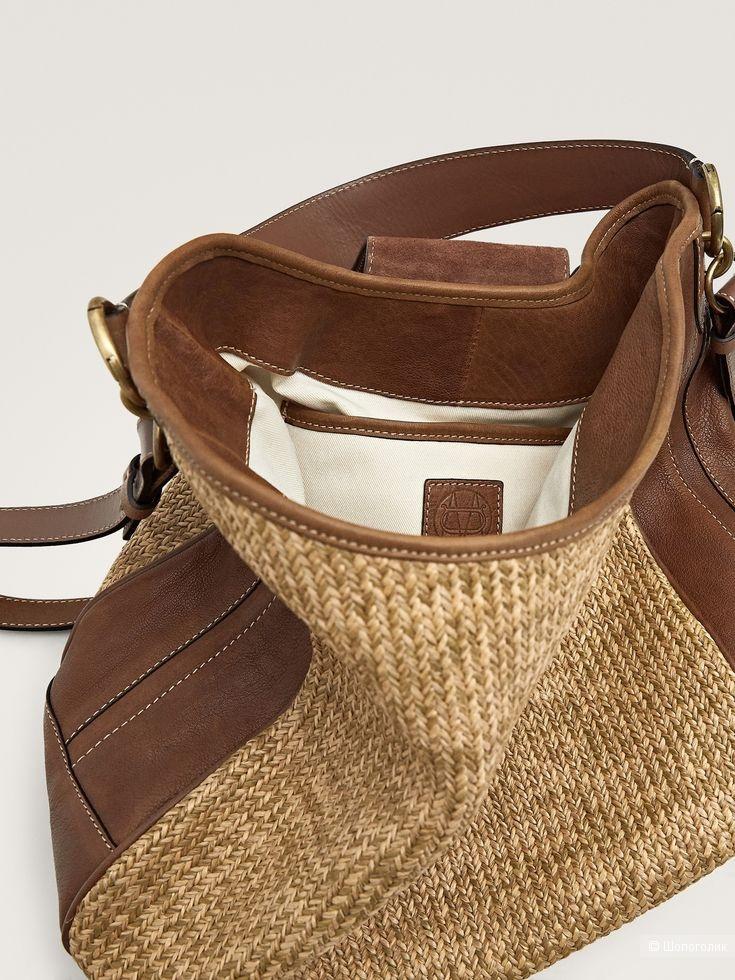 Новая сумка massimo dutti, размер большой