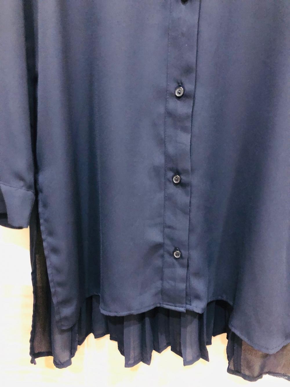 Платье- рубашка ZARA. Размер S-М.