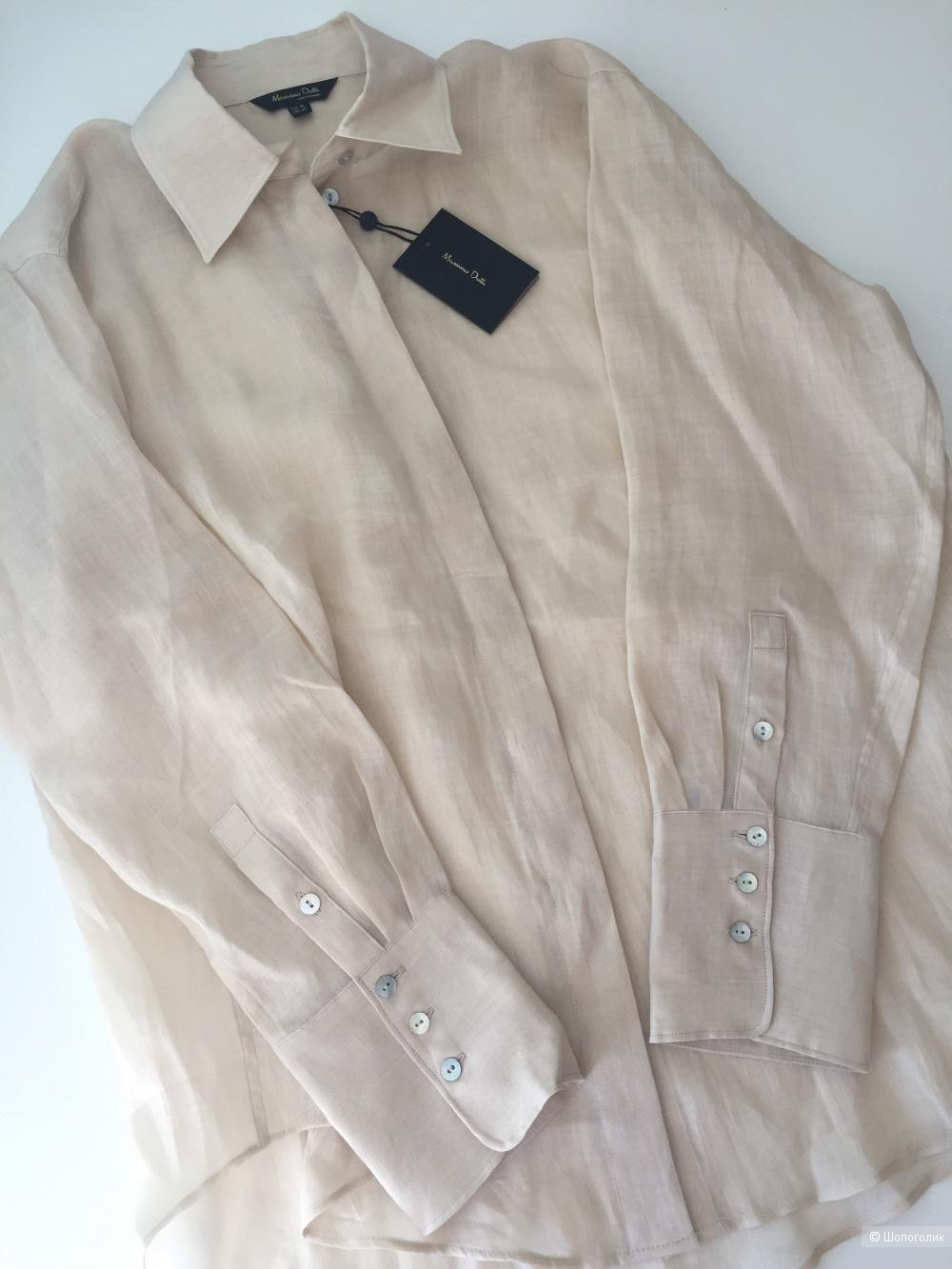 Блузка рубашка Massimo Dutti, 36