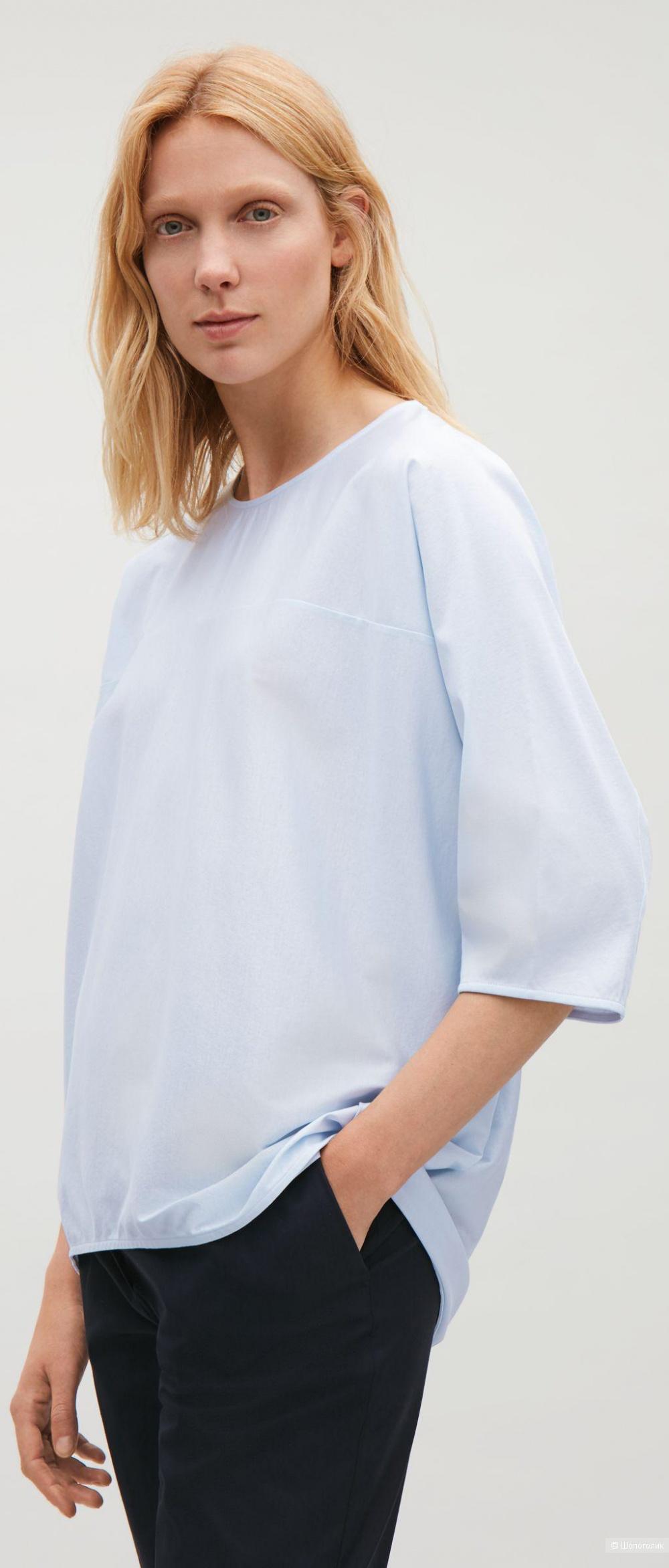 Бежевая блуза  COS размер M-L