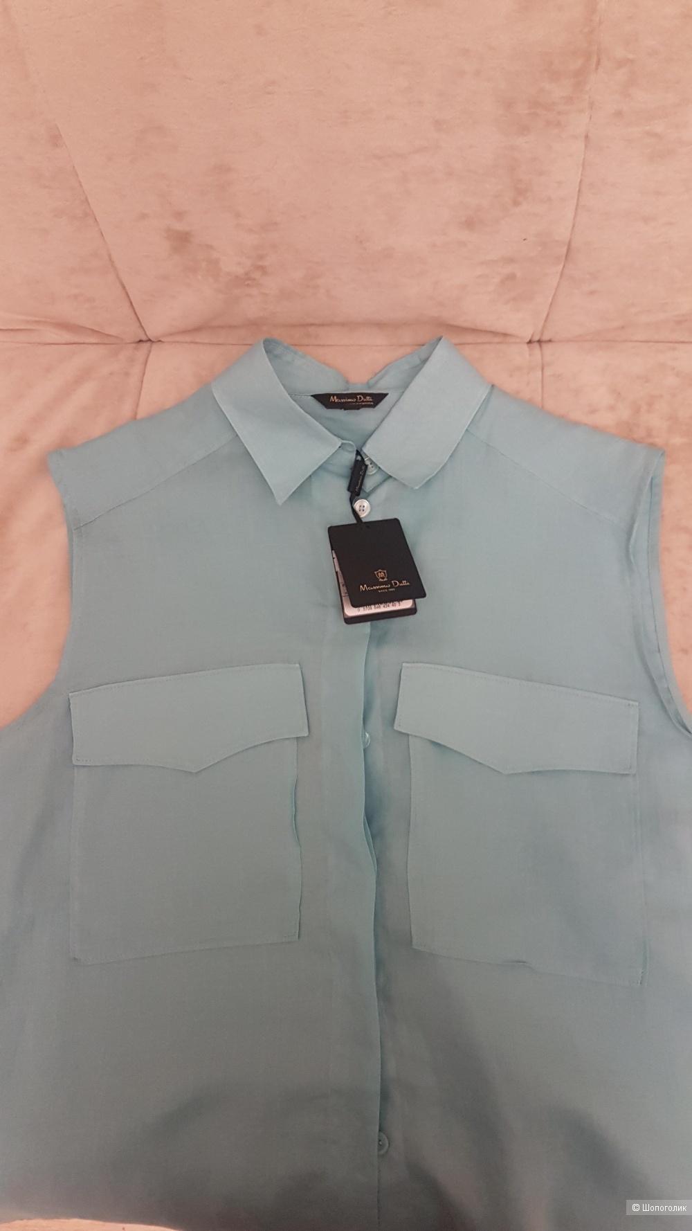 Блузка-рубашка, Massimo Dutti,  46-50