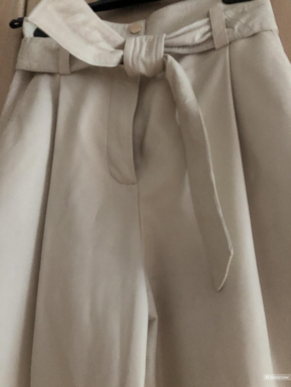 Кожаные брюки Zara, размер XS( на 42 рос. размер)