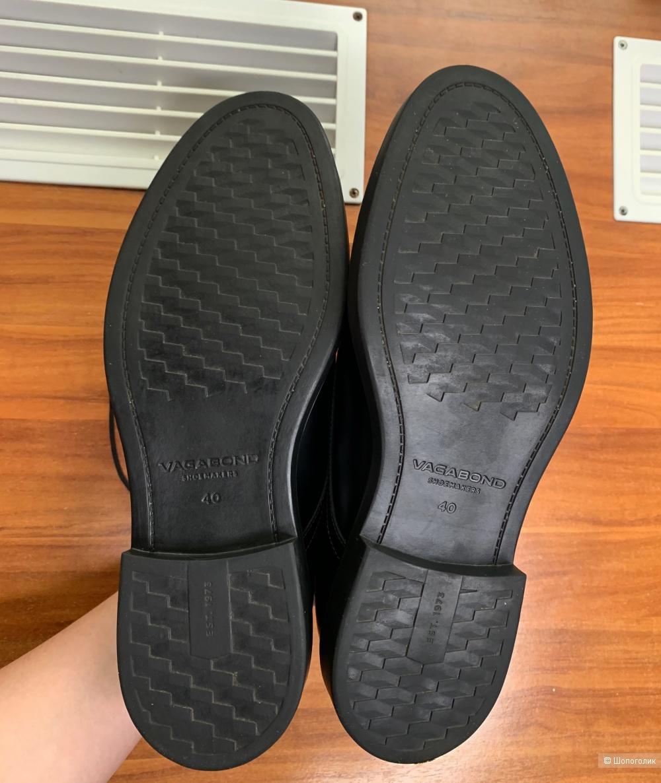 Чёрные ботинки Vagabond размер 40