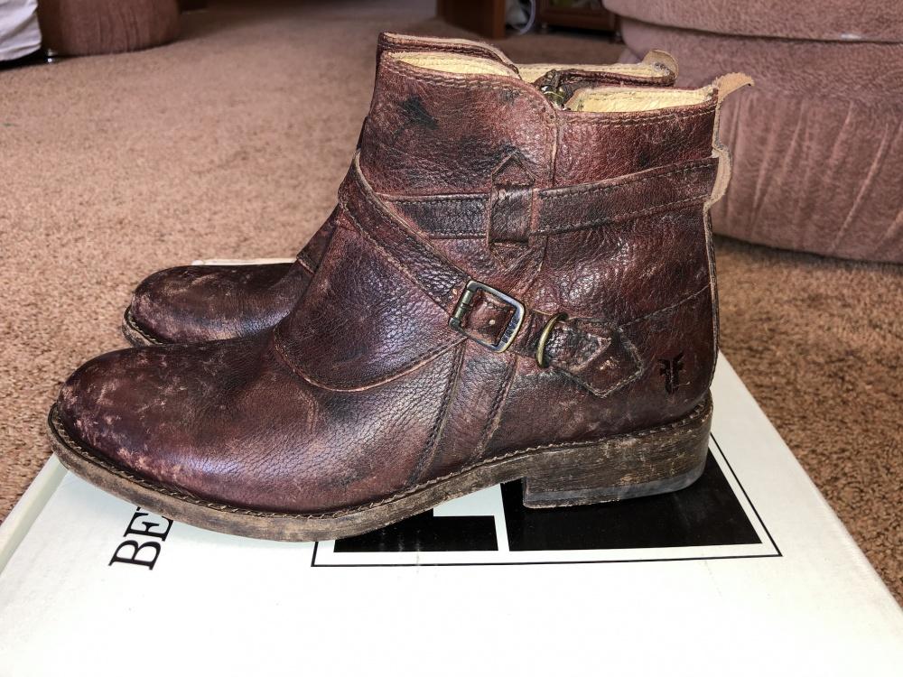 Ботинки женские FRYE размер 37, (us 7)