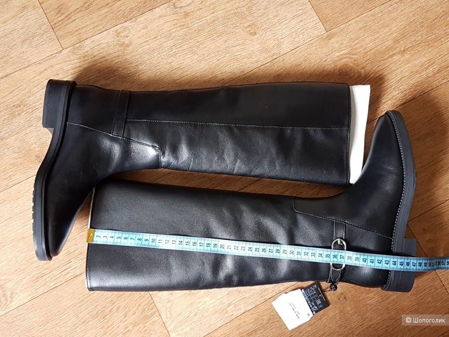 Кожаные сапоги Massimo Dutti 37
