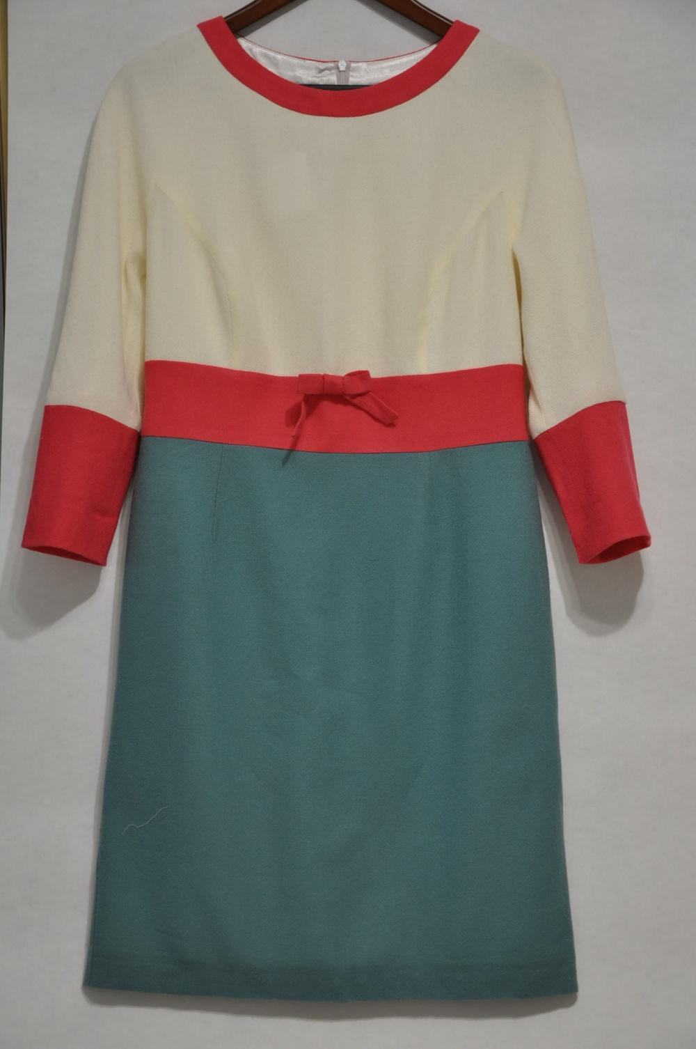 Платье из тонкой шерсти  LO@JN 48 размер L