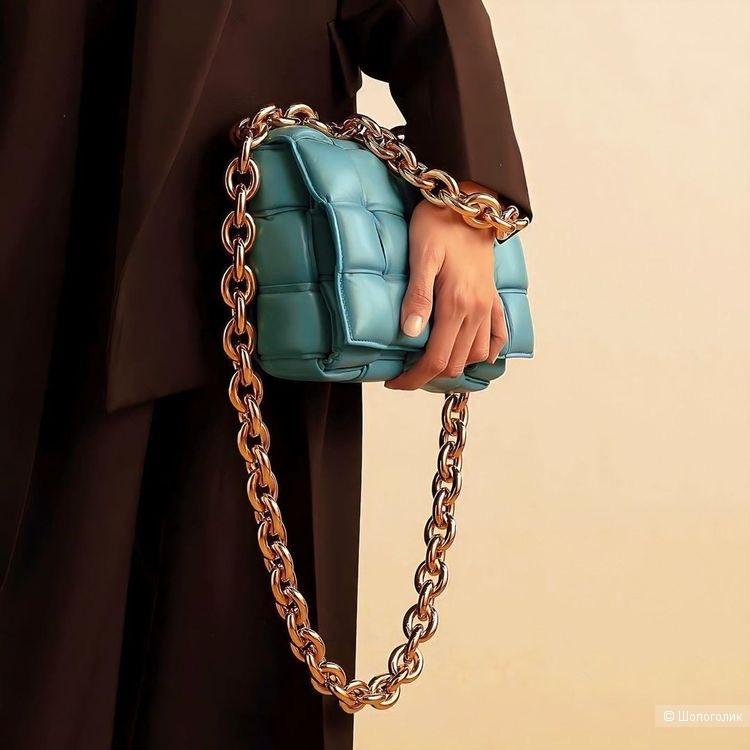 Сумка клатч Bottega veneta casette chain bag, 26/17