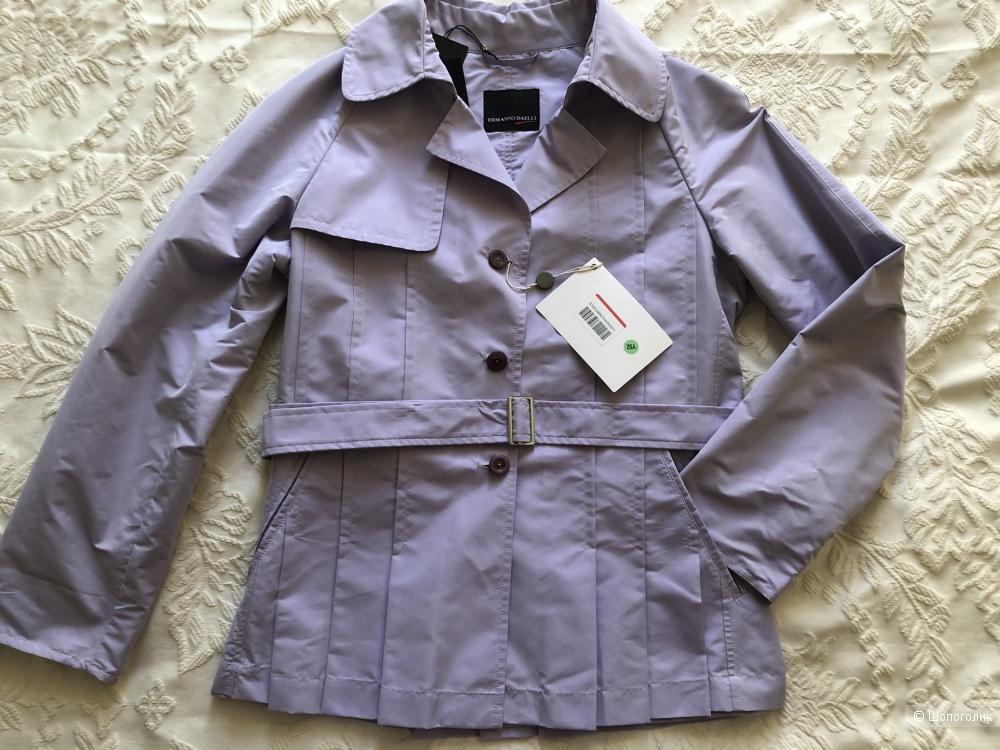 Легкое пальто/короткий плащ/тренч ERMANNO DAELLI р. 44-46 RU 42 IT (