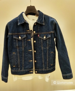 Джинсовая куртка утепленная Levi's размер S