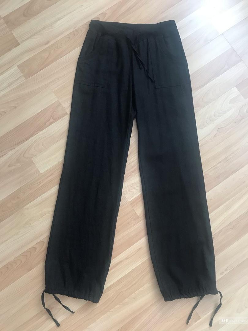 Льняные брюки-джоггеры, размер S
