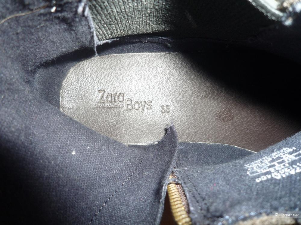 Сапоги ZARA 35 размер