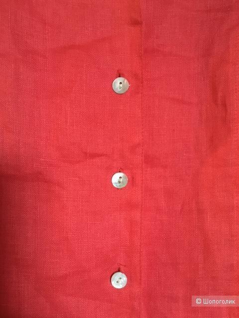 Рубашка льняная H&M 44-46р
