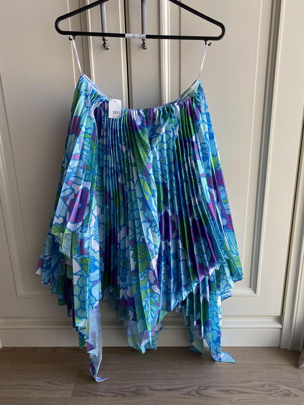 Плиссированная юбка Richard Quinn 8UK (на 44-46)