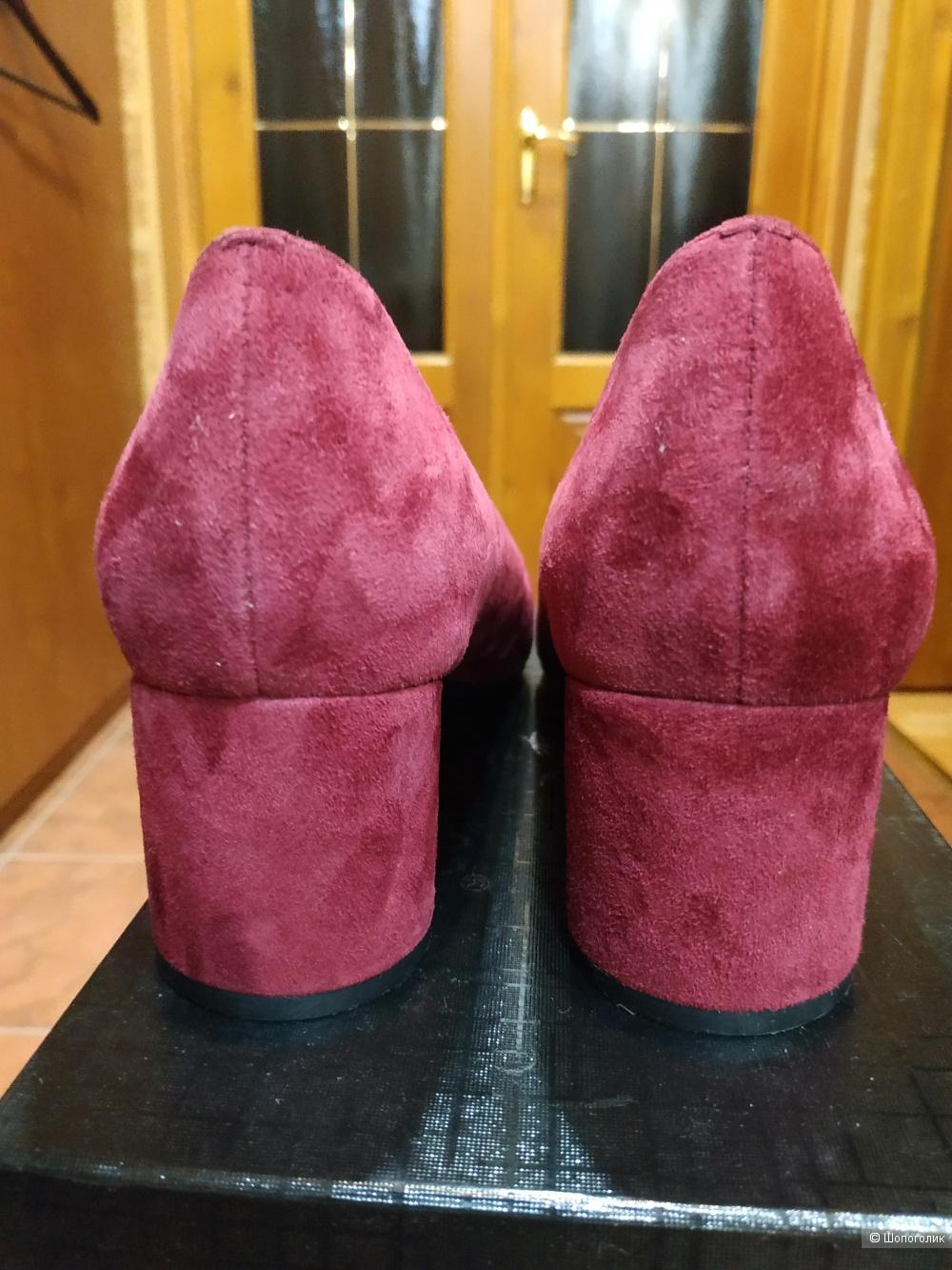 Туфли замшевые 39 р. Popular Fashion