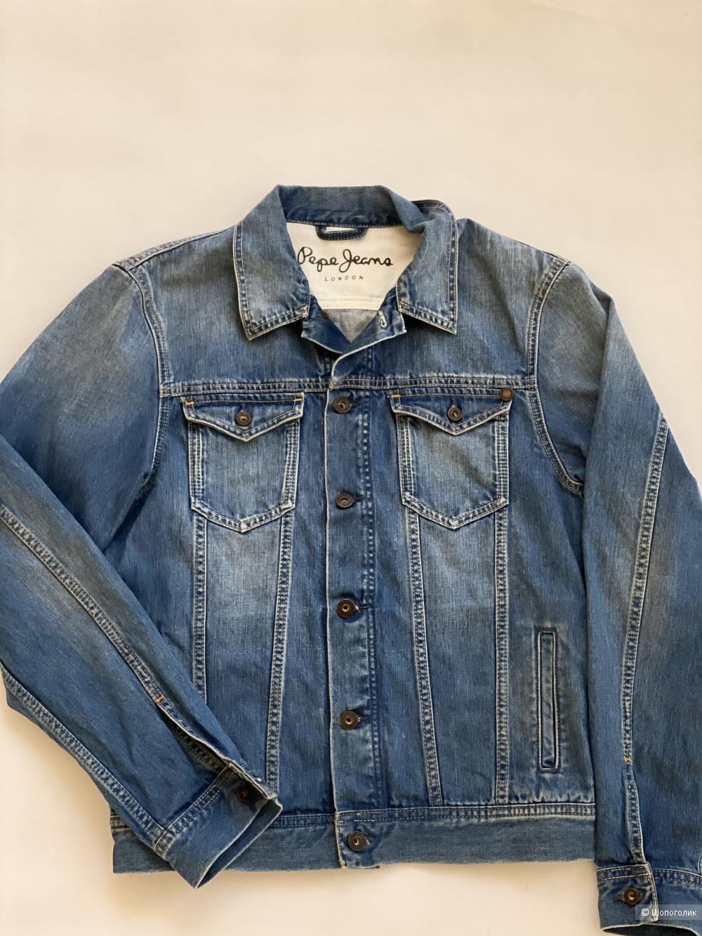 Джинсовая куртка Pepe Jeans размер м