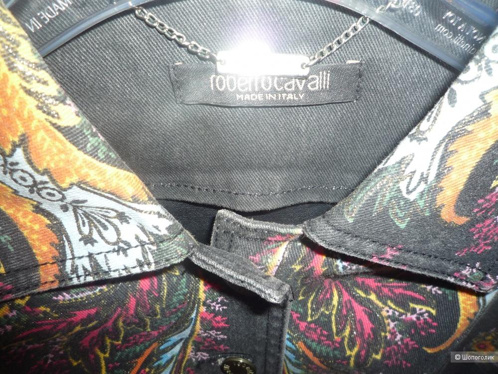 Джинсовый пиджак Roberto Cavalli XS-S (42-44)