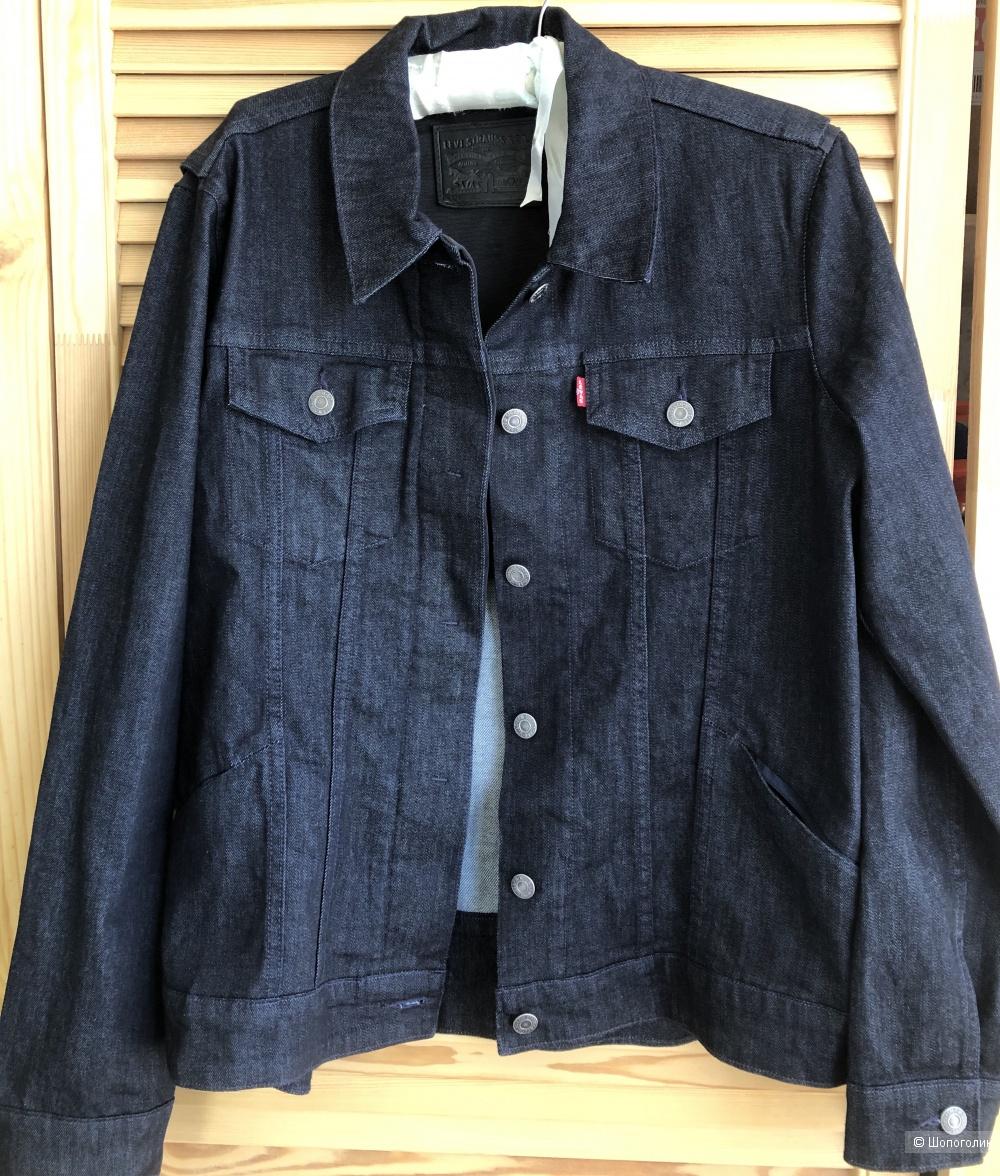 Джинсовая куртка  Levi's размер L ( на 46-48 размер)