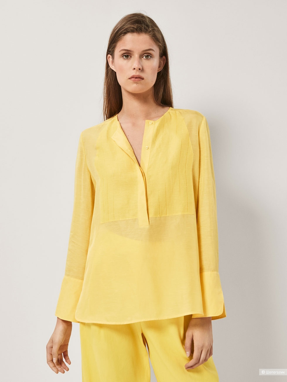 Блузка рубашка MASSIMO DUTTI, 38