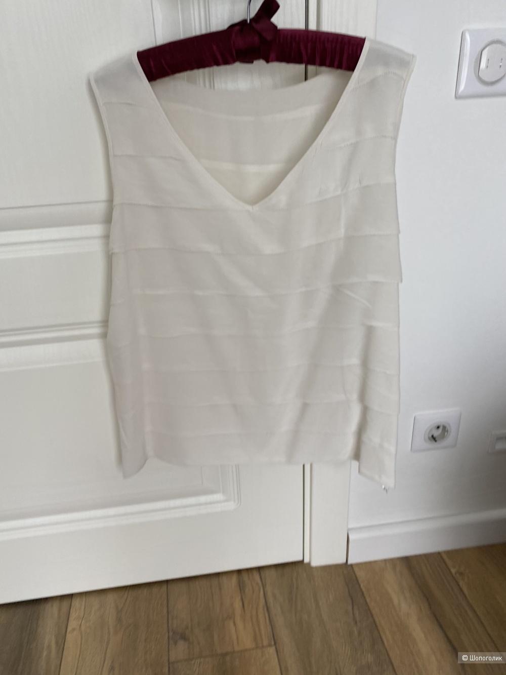 Шелковая блузка-топ Испания 50-52