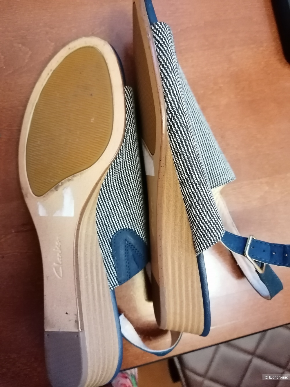 Туфли Clarks 41 размера