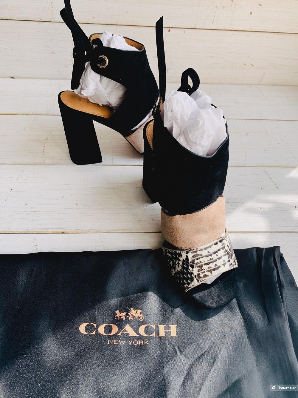 Босоножки Coach р. 36,5-37