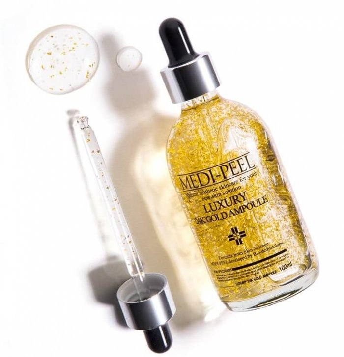 Ампула с золотом 24К для эластичности кожи MEDI-PEEL Luxury 24K Gold Ampoule