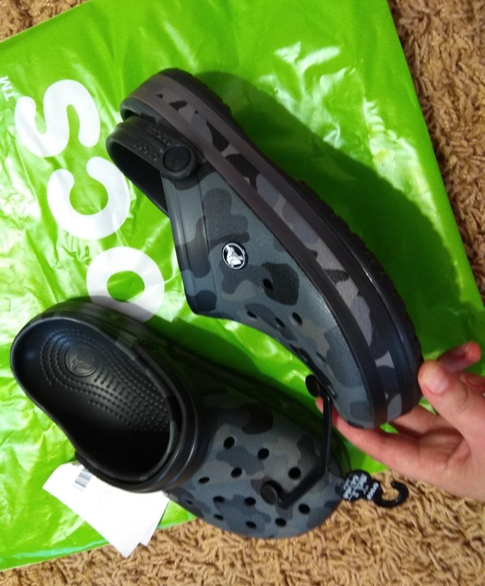 Сабо унисекс Crocs 37-38 размер ( m6 w8)