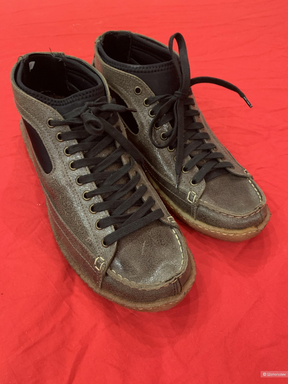 Ботинки мужские Dolce&Gabbana 43 размер