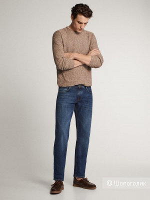 Джинсы Massimo Dutti regular fit, размер 34