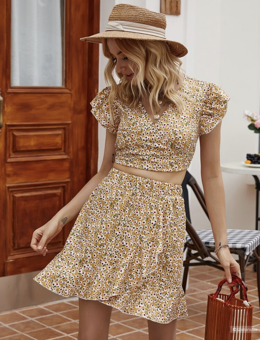 Комплект юбка и топ Noname размер M