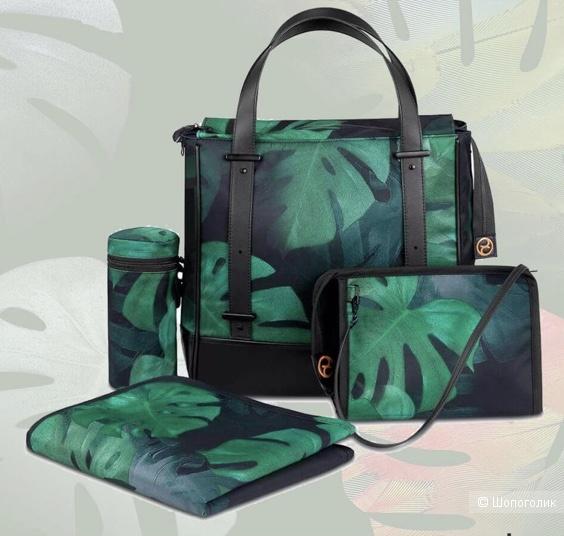 Стильная сумка для коляски Cybex Priam Birds of Paradise.